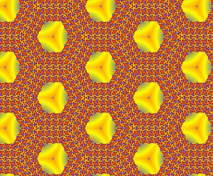 Double pattern. - Fractal art