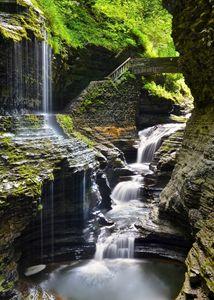 Watkins Glen Rainbow Falls