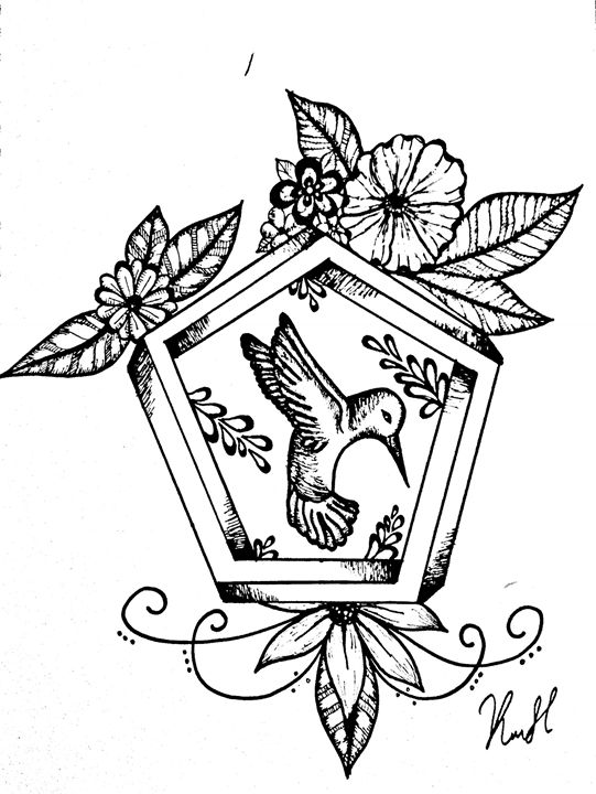 Hummingbird - Unicolor