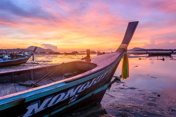 Long-tail Boat - Andreas Hagspiel Photography