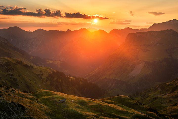 Autumn Sunrise - Andreas Hagspiel Photography