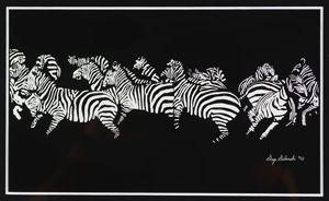 zebras - greg galanski gallery