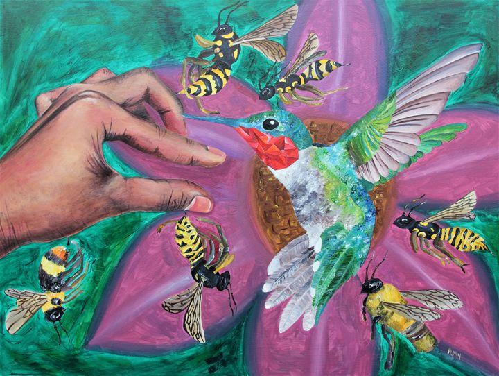 Ruby-Throated Hummingbird - Animac