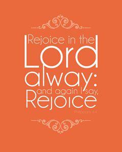 Philippians 4:4