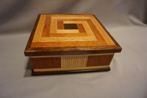 Inlaid Square Box