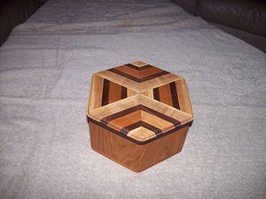6-Sided Wood Box
