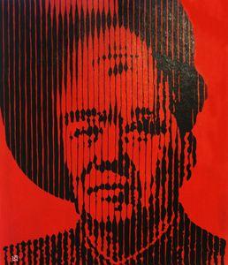 Mao Ze Dong and Mona Lisa