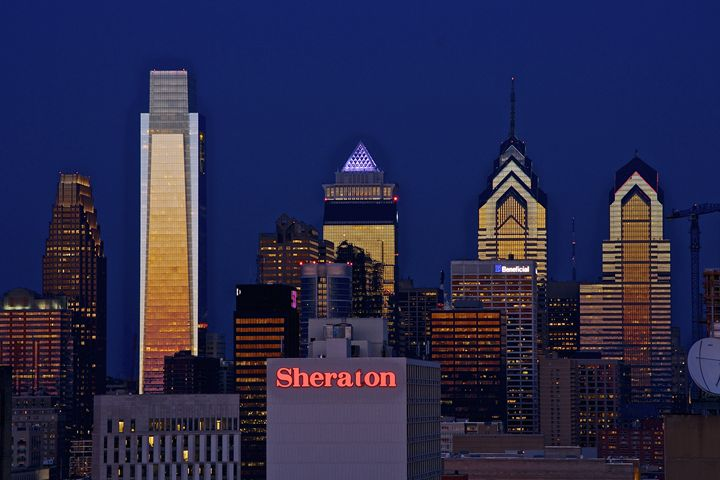 Philadelphia Skyline at Dusk - Matt MacMurchy