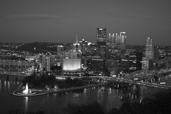 Pittsburgh (black & white) - Matt MacMurchy
