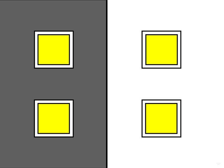 Square Windows Bright Lights - Geraldine Cote