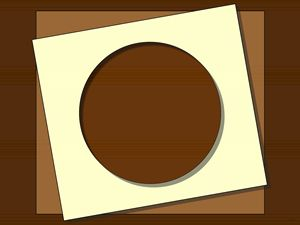Chocolate Squares And A Circle