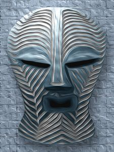African Tribal Mask - 12