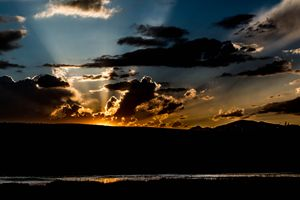 Sunset at Yellowstone