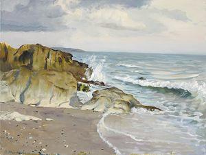 The evening on the shore - MolchanovArt