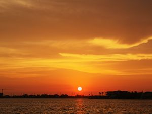 Offatts bayou sunset