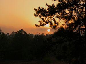 Sunrise over Nacogdoches