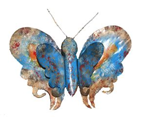 Hand made metal Butterfly