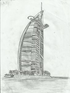 Burj Al Arab, Dubai, UNE - Jakub Farmas Artwork