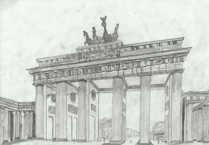 Brandenburg Gate, Berlin, Germany - Jakub Farmas Artwork