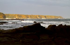 Cliffs in the Distance