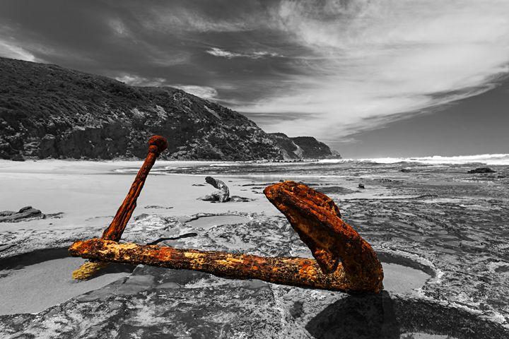 Rusty Anchor - Maxwell Jordan