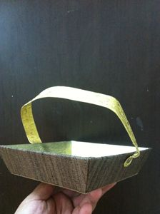 Golden Brown Basket - KIPI CREATIONS