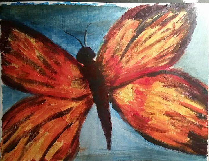 butterfly - Paintings by Julia Stuhlmiller