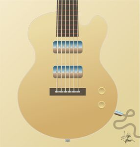 Big Blonde Guitar - S and S Designs