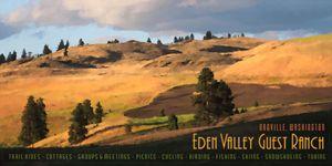 Eden Valley Travel Poster