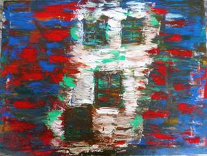 Abstract original  painting