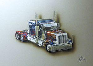 Optimus Prime truck - Lguillaume