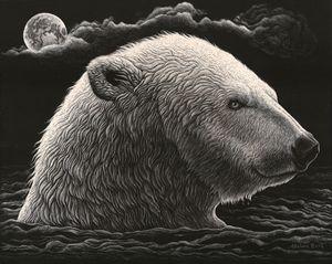 Polar Plunge - Nathan Perry Fine Art