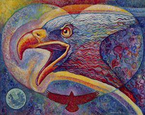 Chromatic Love Bird - Nathan Perry Fine Art