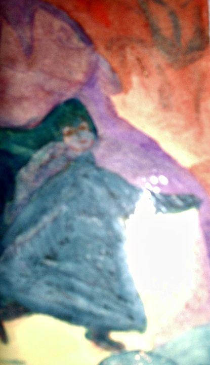 Witch - KaraMariaMillerWaterColours