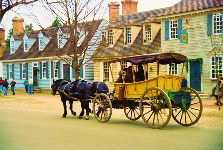 Williamsburg Horse and Carriage - Richard W. Jenkins Gallery