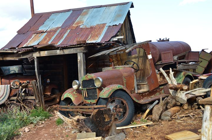 Vintage Shack and Truck - Richard W. Jenkins Gallery
