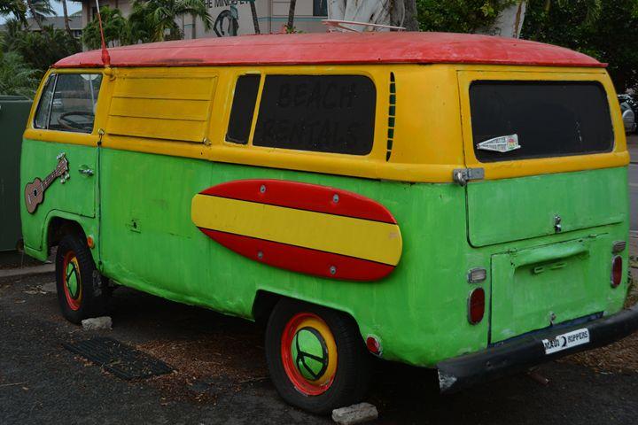 Vintage VW Bus - Richard W. Jenkins Gallery