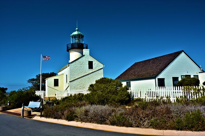 Point LOma Lighthouse - Richard W. Jenkins Gallery