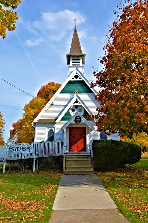 125 year old Church - Richard W. Jenkins Gallery
