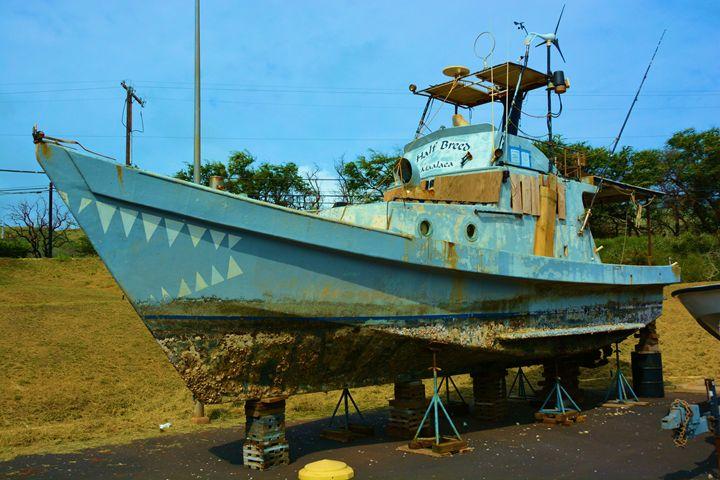 Half Breed Fishibg Boat Maui - Richard W. Jenkins Gallery