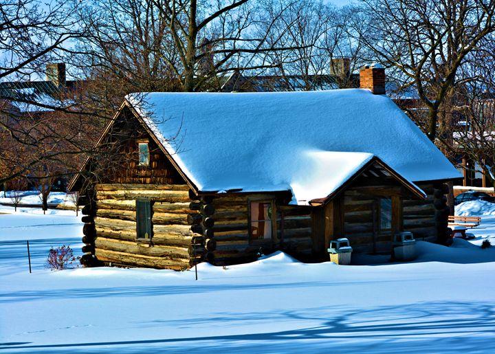 Vintage Log Cabin - Richard W. Jenkins Gallery