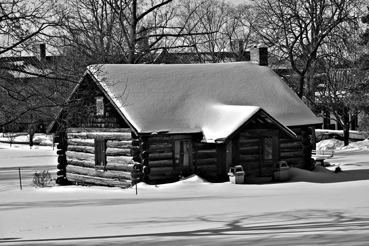 Historic Cabin - Richard W. Jenkins Gallery