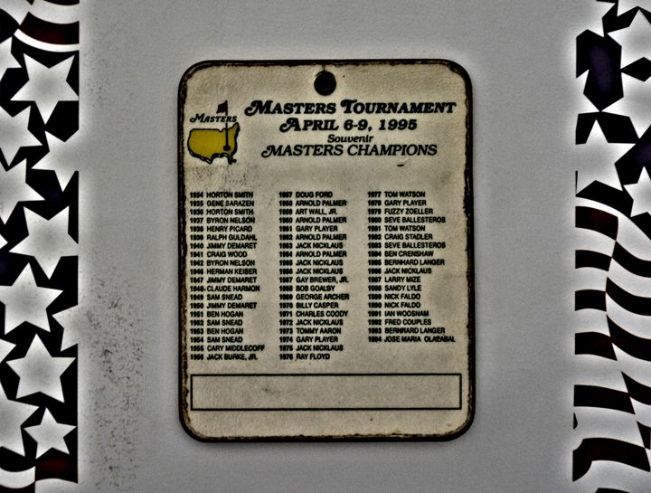 Vintage Masters Golf - Richard W. Jenkins Gallery
