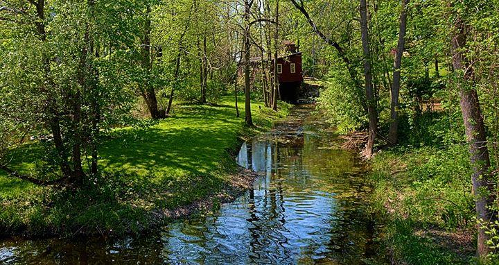Old Mill on Black Creek - Richard W. Jenkins Gallery