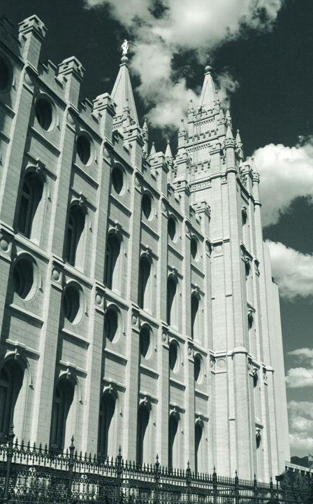 Mormon Temple Building - Carlos' Art Works