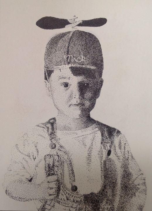 Little Nick - Shaleaux Fine Art & Design
