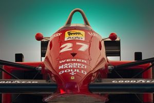 1985 Ferrari 156/85 F1 Nose - Transchroma Photography