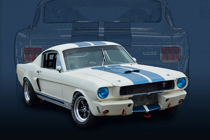 1966 Shelby GT350 Mustang - Transchroma Photography