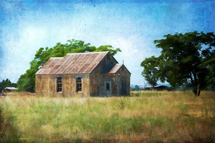 Bribbaree Church - Transchroma Photography