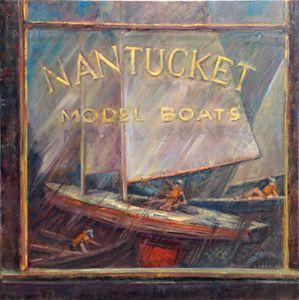 Model Boat Shop Nantucket 24x24in.